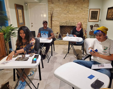 CONGRATULATIONS to our newest TAROT READERS!!!