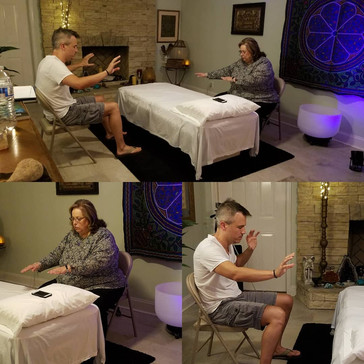 Congratulations to our newest Distance Healing Practitioners!: Bonnie Mercante and Geoffrey Louis Ko