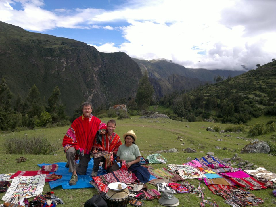 Jeff Crawford near Macchu Piccu
