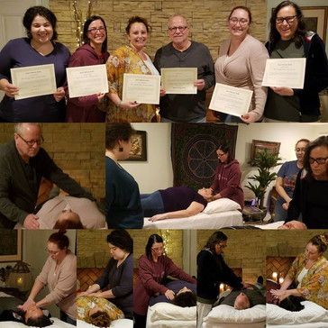 CONGRATULATIONS to our newest Reiki Level 2 Practitioners!: Lindsey Weiner, Heather Payne, Christy C