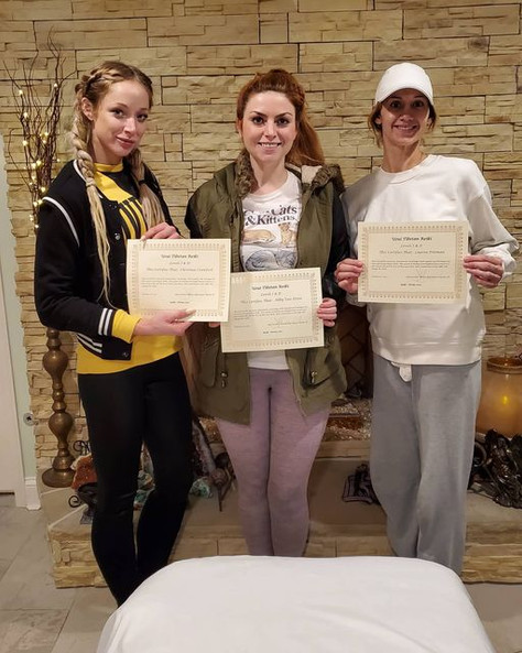 CONGRATULATIONS to our newest Reiki Level 2 Practitioners!