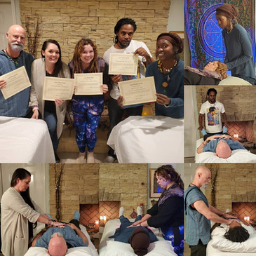 CONGRATULATIONS to our newest Reiki Level Two Practitioners!!