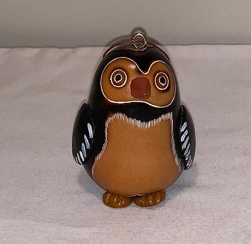 GO7 Penguin Gourd Ornament