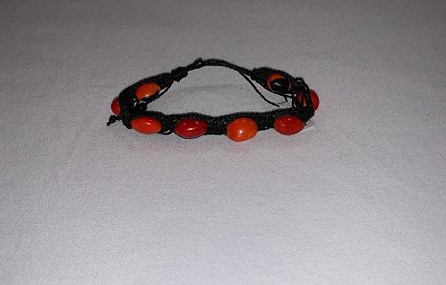JB66 Knotted Huayruro Bracelet