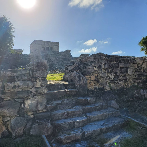 """Totally """"ruined"""" in Tulum & Coba today....  😁"""
