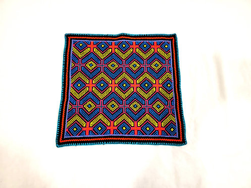 "AA81 Song Pattern Altar Cloth 12"" X 13"""