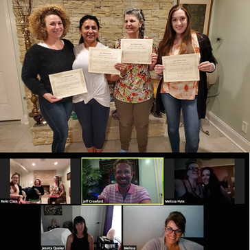 CONGRATULATIONS to our newest Reiki Master Teachers!!!