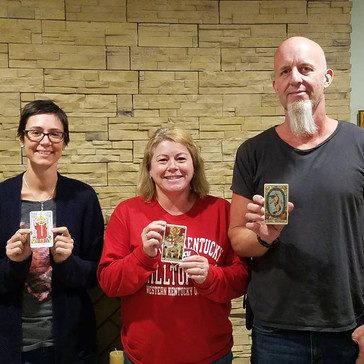 Congratulations to our newest Tarot readers!