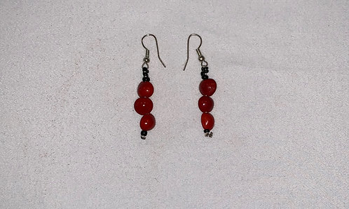 JE6 Huayruro Dangle Earrings
