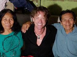 Jeff with Shipibo Parents