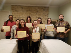 Reiki Graduates 2018