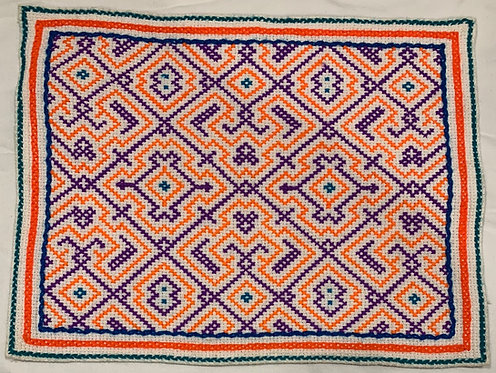 """AA59 Song Pattern Altar Cloth 12.25"""" X 9.5"""""""