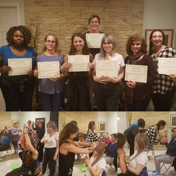 CONGRATULATIONS to our newest Reiki Master Teachers!