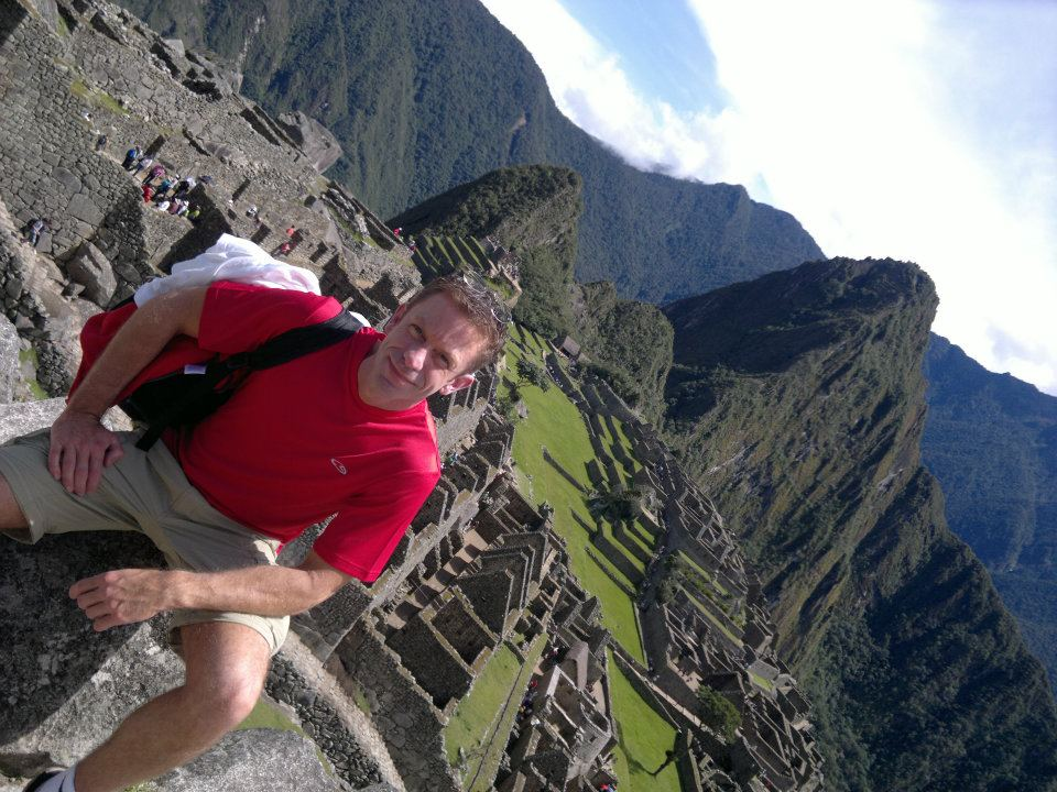 Jeff Crawford at Macchu Piccu