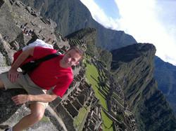 Jeff Crawford at Macchu Piccu