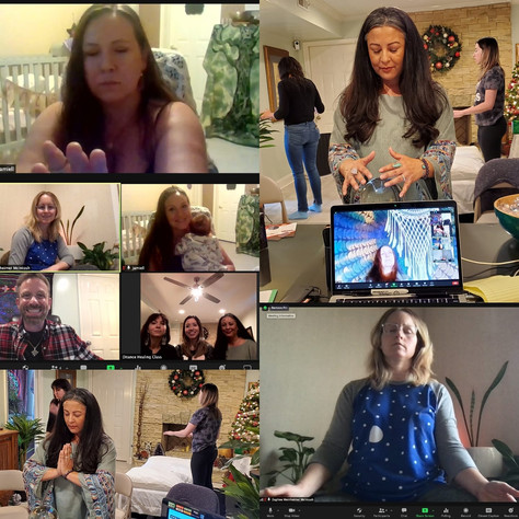 CONGRATULATIONS to our newest Distance Healing Practitioners!
