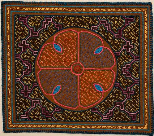 """AA49 Flower Altar Cloth 14"""" X 12.5"""""""
