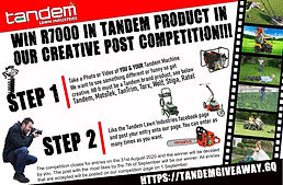 Tandem creative post competition, win R7000 in Tandem Product