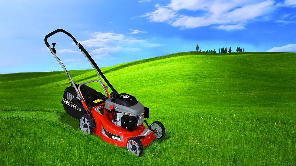Tandem, Ratel range of powerful petrol lawnmowers for commercila use