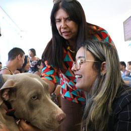 Visita da Deputada Kitty Lima