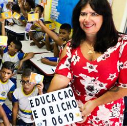 Lançamento do programa de Educação - Córrego do Euclides