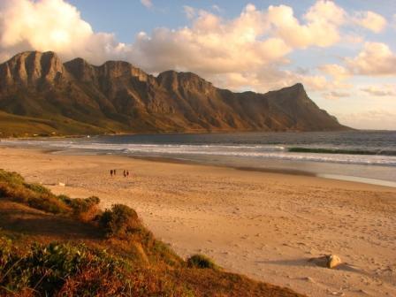 False Bay coast, Cape Town, S. Africa - P. Barnard