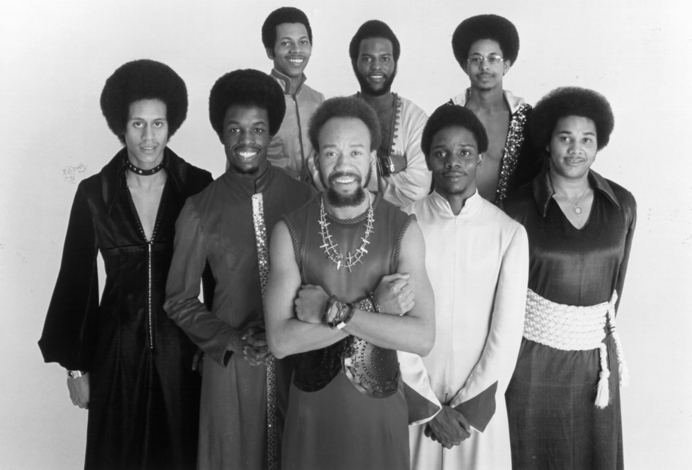 Earth Wind & Fire, coolest band of the 1970s, courtesy Spotify