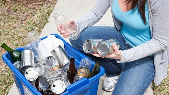 Recycling habits of young people, courtesy BBC