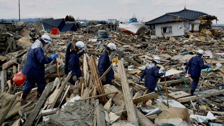 Japanese 2011 earthquake recovery
