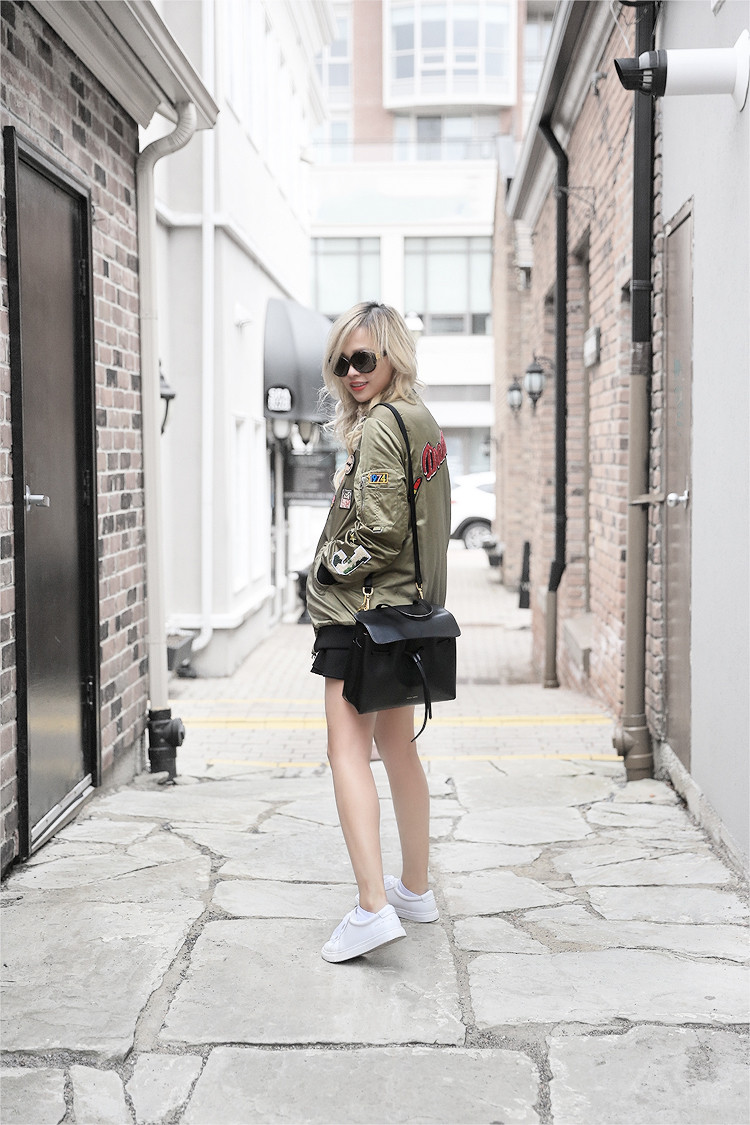 Love Between the Racks - fashion blogger - Zara bomber jacket, Common Projects sneakers4049