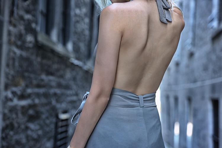 Love Between the Racks x Nicole Vienna - zara one piece bathing suit & wrap skirt 2