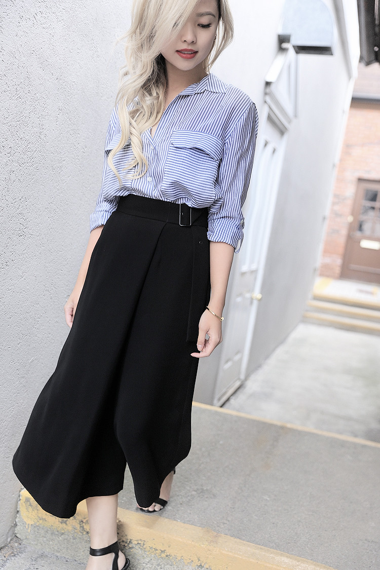 Love Between the Racks - Fashion Blogger - How to make culottes work for work4347