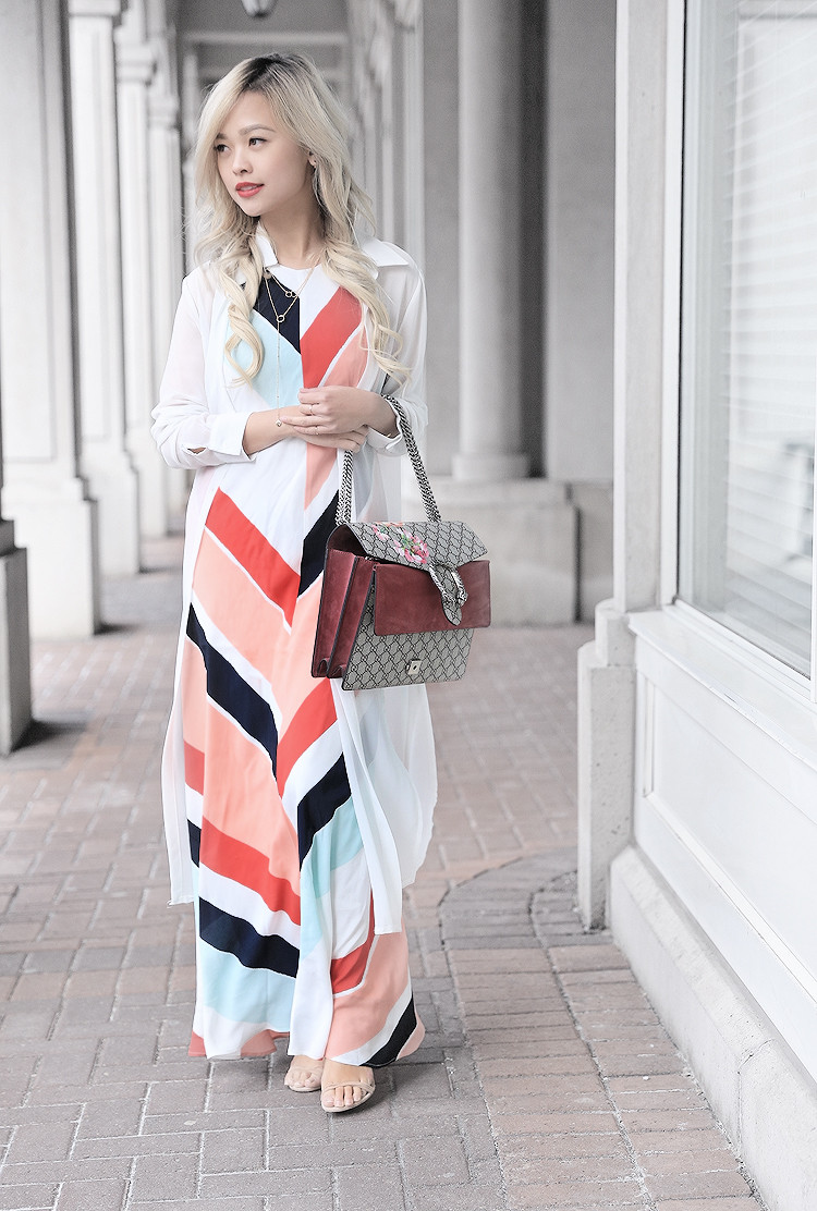 Love Between the Racks - Fashion Blogger - Striped dress & Gucci Dionysus bag4206