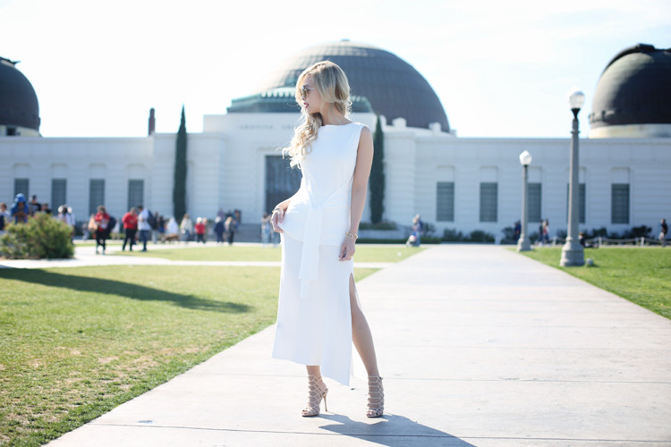 Love Between the Racks - Lina Dinh - Knit dressing, Schutz Juliana heels - Griffith Observatory 3 copy