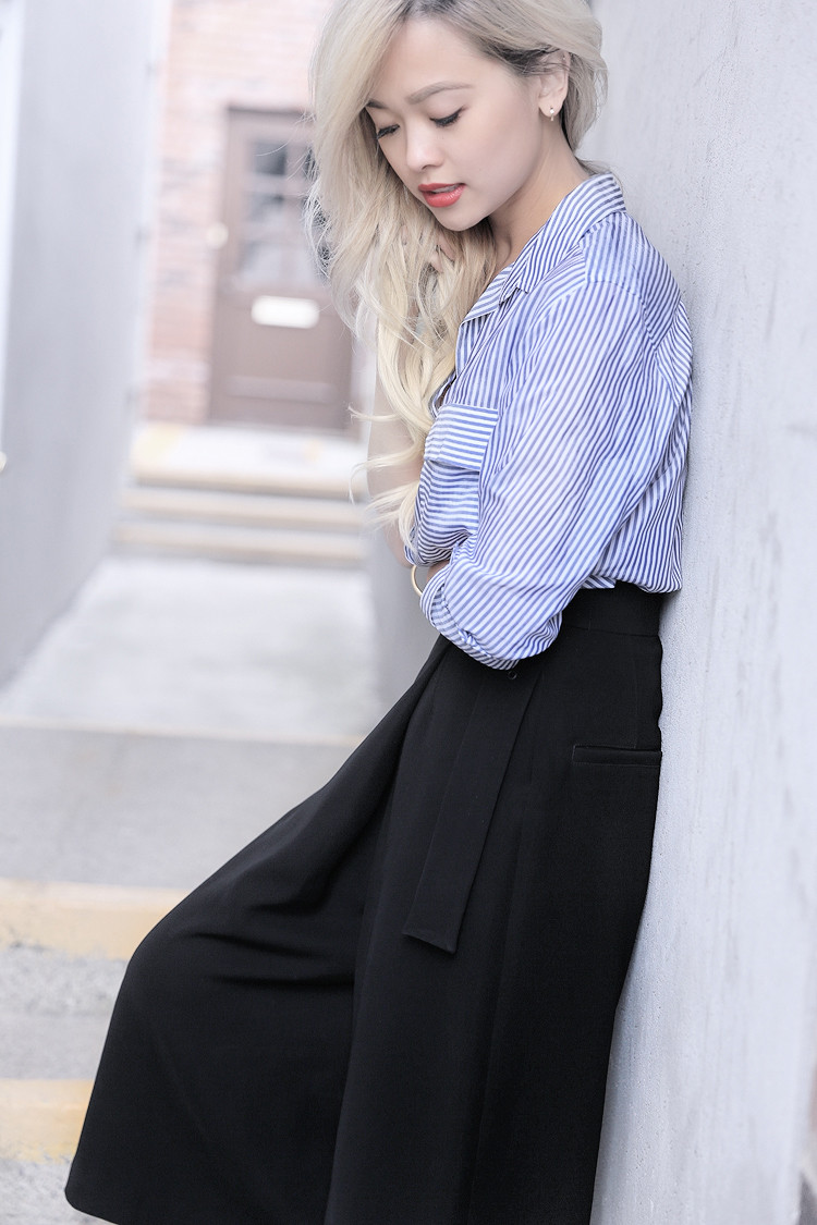 Love Between the Racks - Fashion Blogger - How to make culottes work for work4382
