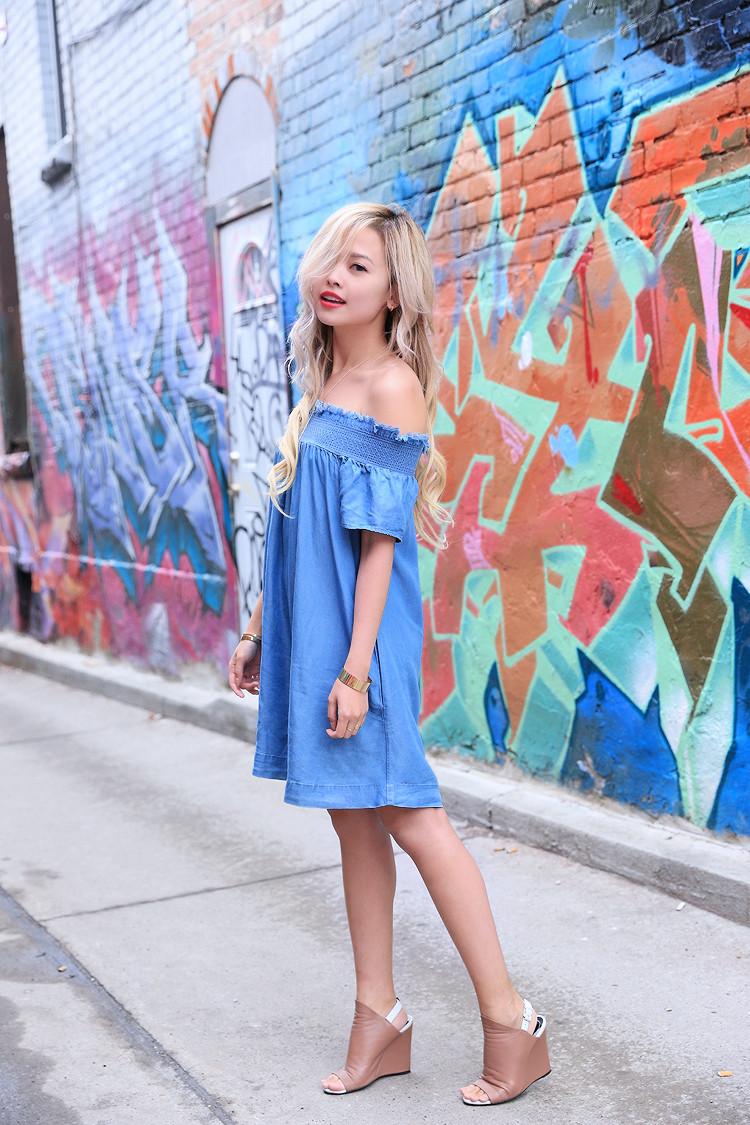 Love Between the Racks - Fashion Blogger - Off-Shoulder dress1257