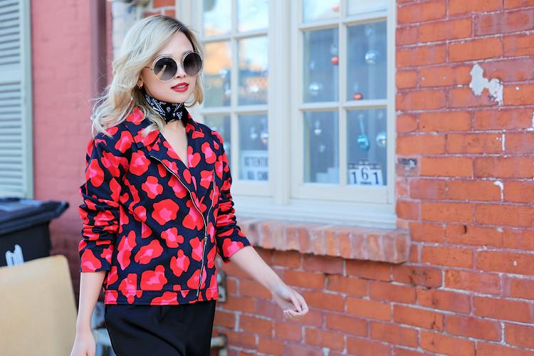 Love Between the Racks - Fashion Blogger - Hayley Elsaesser moto leopard print jacket1679