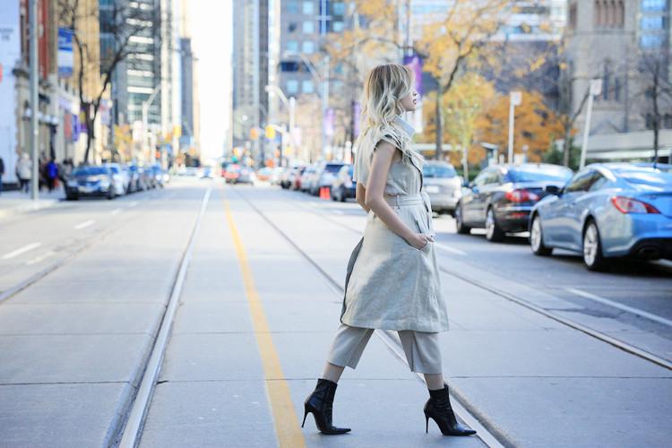 Love Between the Racks Lina Dinh OOTD Sleeveless coat, tonal dressing 10
