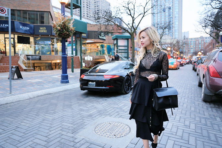 Love Between the Racks - Canadian Fashion Blogger - lace top - layered skirt1376