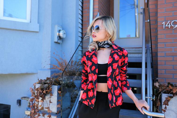 Love Between the Racks - Fashion Blogger - Hayley Elsaesser moto leopard print jacket1595