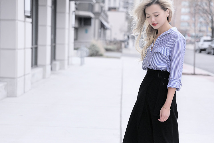 Love Between the Racks - Fashion Blogger - How to make culottes work for work4474