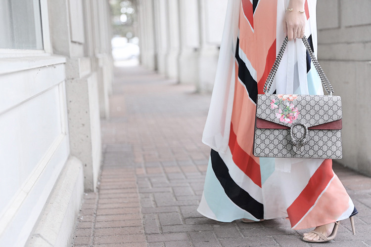 Love Between the Racks - Fashion Blogger - Striped dress & Gucci Dionysus bag4131