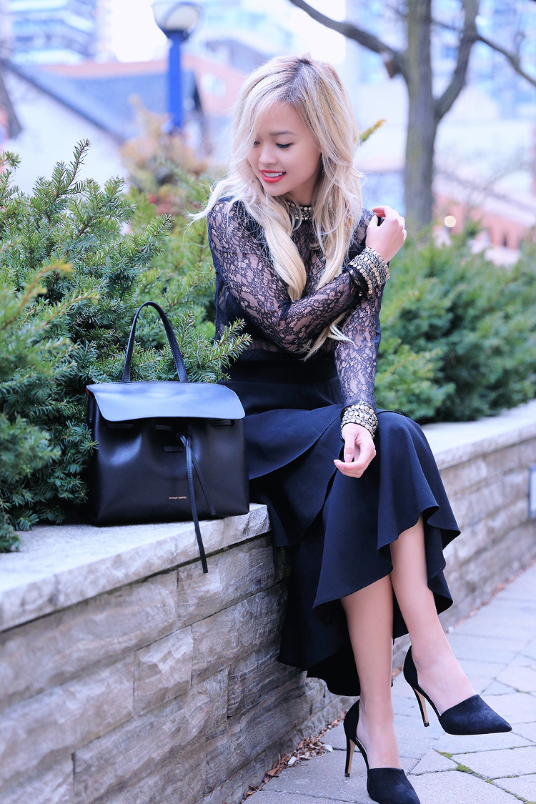 Love Between the Racks - Canadian Fashion Blogger - lace top - layered skirt1291