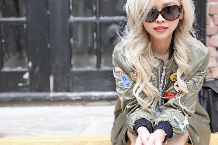Love Between the Racks - fashion blogger - Zara bomber jacket, Common Projects sneakers4057