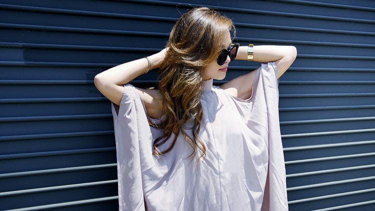 Laura Siegel silk dress
