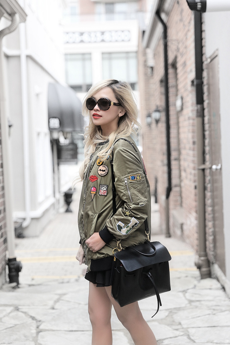 Love Between the Racks - fashion blogger - Zara bomber jacket, Common Projects sneakers4042