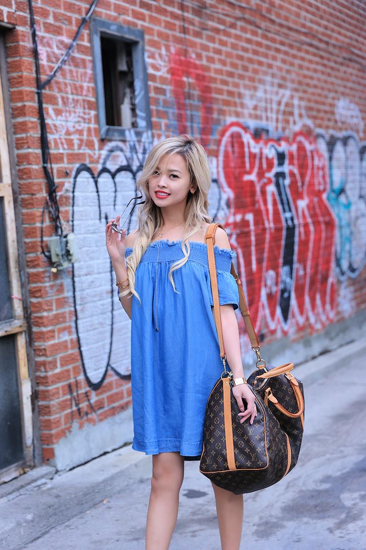 Love Between the Racks - Fashion Blogger - Off-Shoulder dress1126