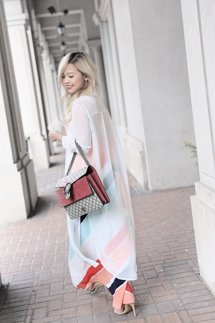 Love Between the Racks - Fashion Blogger - Striped dress & Gucci Dionysus bag4172
