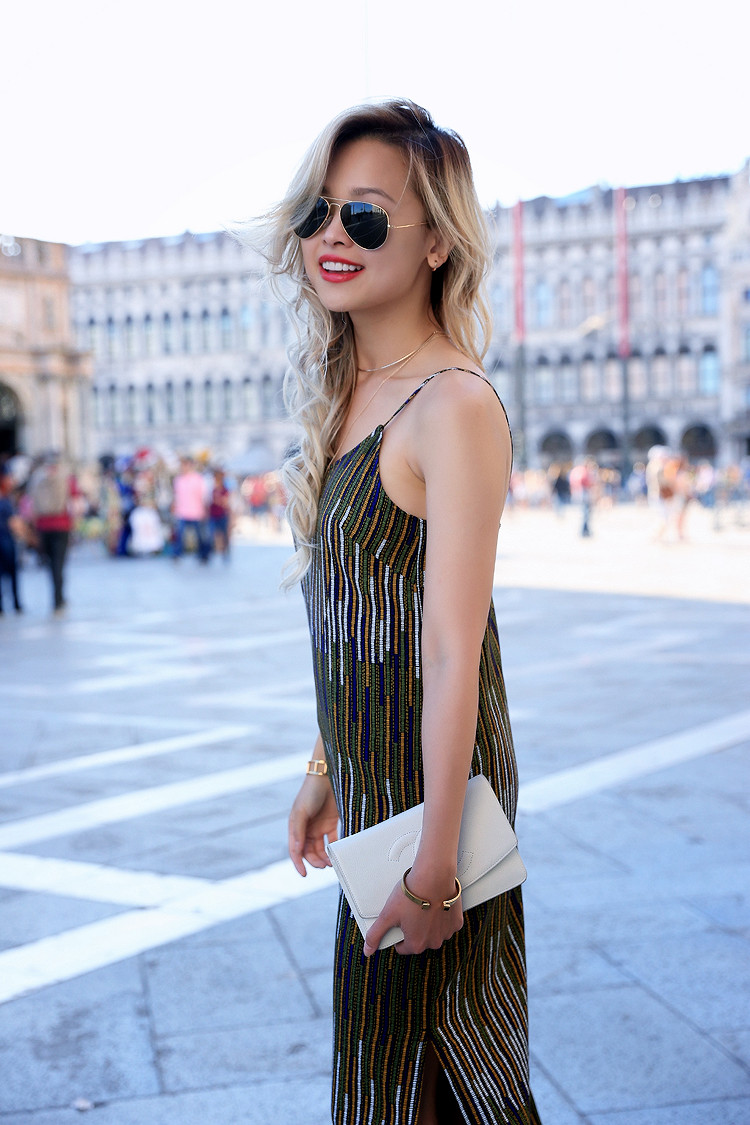 Love Between the Racks - Fashion Blogger x Venice, Italy - H&M print dress 11