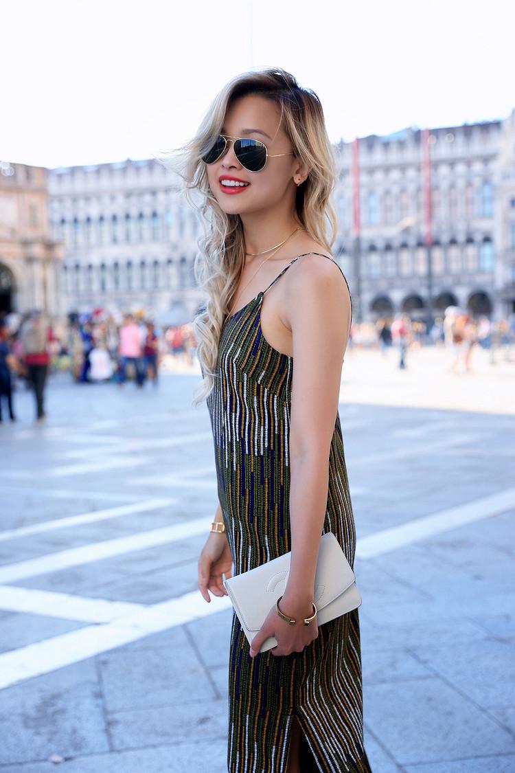 Love Between the Racks - Fashion Blogger x Venice, Italy - H&M print dress 11
